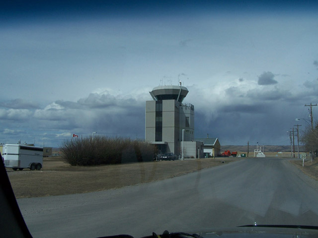 Springbank Airport Control Tower