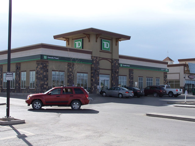 TD Bank - Okotoks Commercial Development
