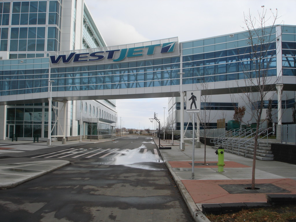 West Jet Headquarters - Railings