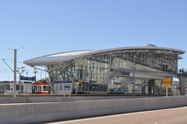Crowfoot LRT Station