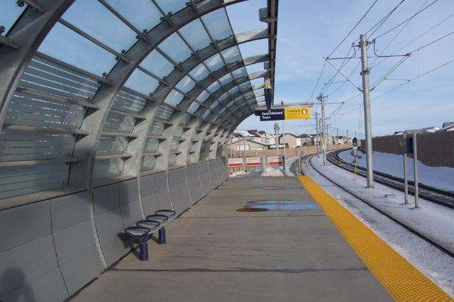 Martindale LRT Station NE