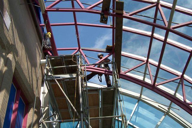 HMRB Atrium Skylight Replacement