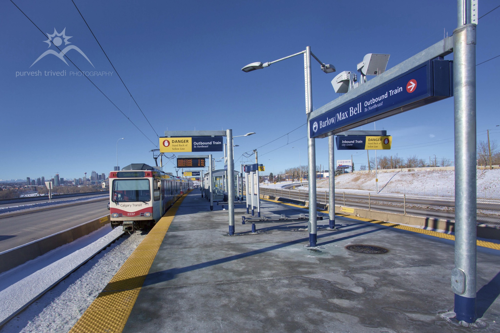 Barlow Max Bell LRT Station